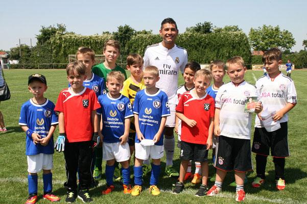 Fußball Freestyler bei Workshops in Fußballschulen