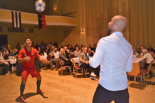 Fußball Künstler & Freestyler Saki - SV Rositz Jubiläumsgala