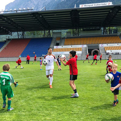 FC Vaduz - Fussballschule  und Camp