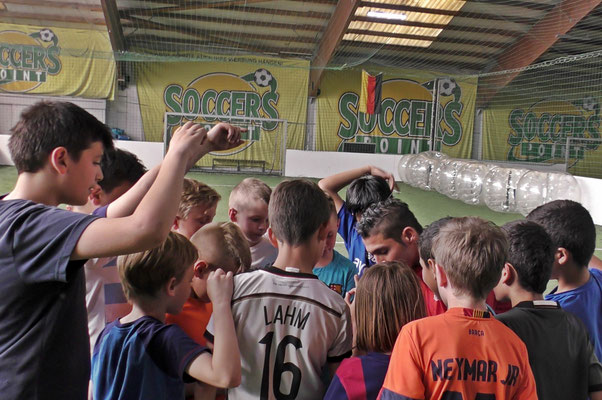 Fußball Freestyler bei privaten Workshops
