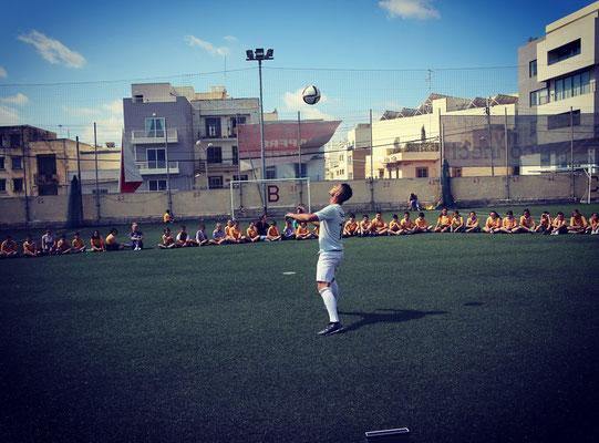 Fußball Freestyler für Projektwochen