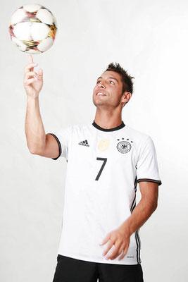Fotomodel für Fussball