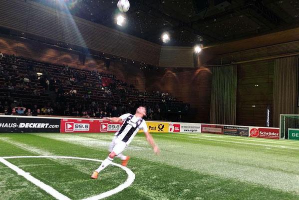 Legends Cup Saabrücken Fussball Show