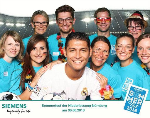 Siemens Sommerfest - Fußball Freestyler Saki