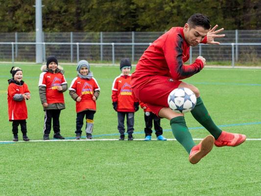 Fussball Showact für Turniere und Vereine