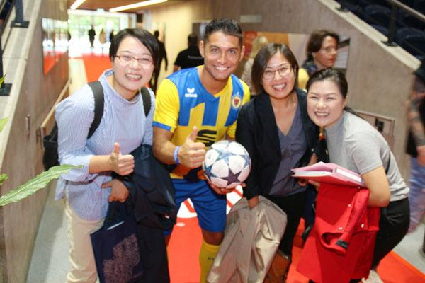 Fussball Freestyler Saki Event und Veranstaltung