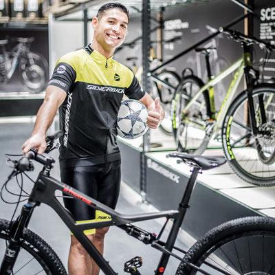 Silverback Bikes Saki Markenbotschafter