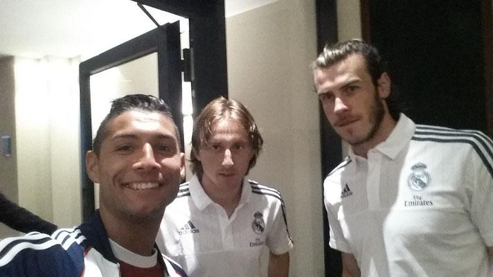 Luka Modrić, Gareth Bale