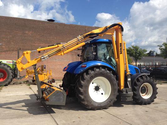 Hemos ORCA gemonteerd op New Holland T6.160. De eerste ORCA gemonteerd aan een 4 cilinder tractor. Geleverd aan Roy Besseling, Hem. September 2014