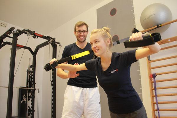 healthPi  Gesundheitsplan Rücken Training-Therapie