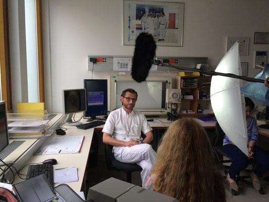 OA Dr. Christian Muschitz bei ORF Bewusst gesund!