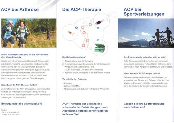 Eigenplasma ACP-Therapie @ healthPi