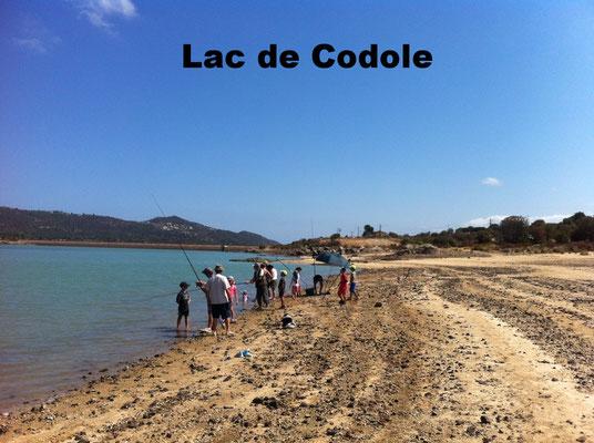 Lac de Codole, un lieu idéal