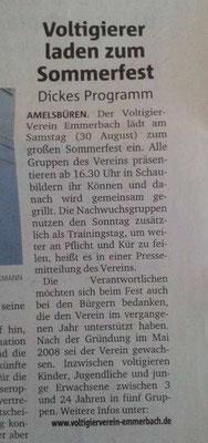 Münstersche Zeitung - 28.08.2014