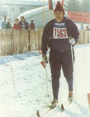 Sepp Kuhn beim Koasalauf 1973