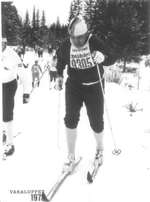Sepp Kuhn beim Wasalauf 1973
