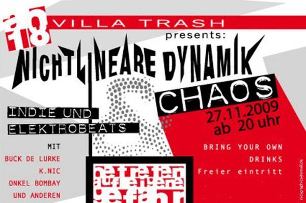 Partyflyer Nichtlineare Dynamik und Chaos
