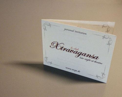 Einladungen V.I.P. Xtravaganza