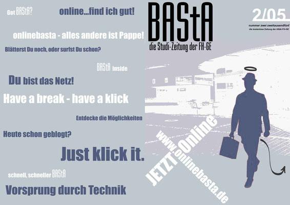 Plakat Studizeitung online
