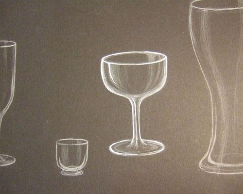 Polychromos: Gläser