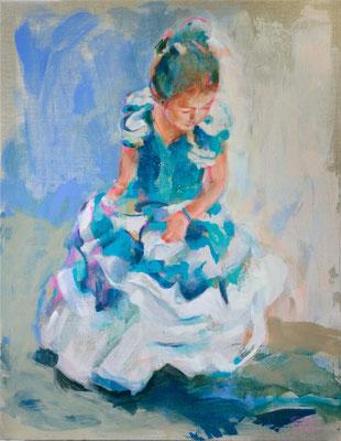 """Laura"" Comission 70 x 90 cm"