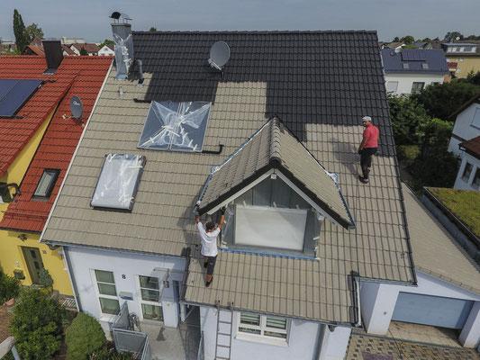 Fotos Videos Drohnen Dächer Dachdecker Holzbau Rastatt Karlsruhe Baden-Baden Bühl Gaggenau