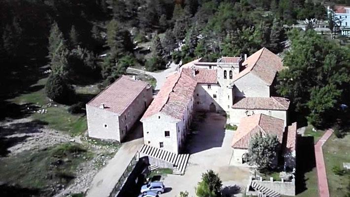Ermita y Monasterio en el macizo del Penyagolosa (Castellón) Comunidad Valenciana.