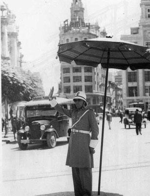 Guardia urbano de València en los años 60.
