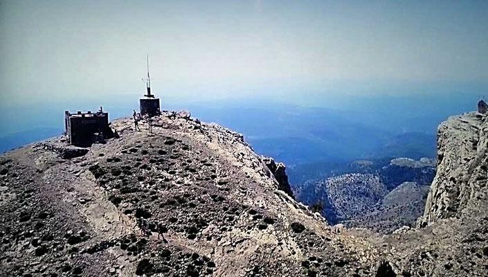La cima del Penyagolosa con  1.813 metros es la segunda más alta de la Comunidad Valenciana.