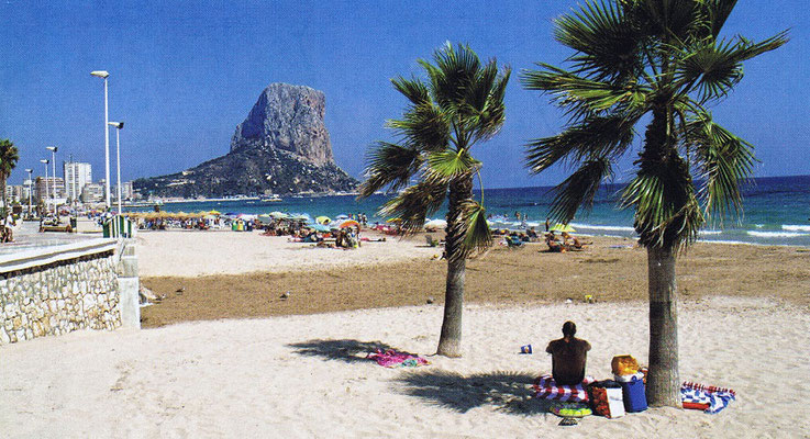 Playa de Calpe (Alicante)