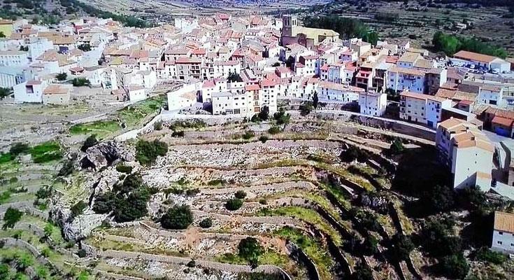 Pueblo de Villahermosa en el Penyagolosa (Castellón) Comunidad Valenciana.