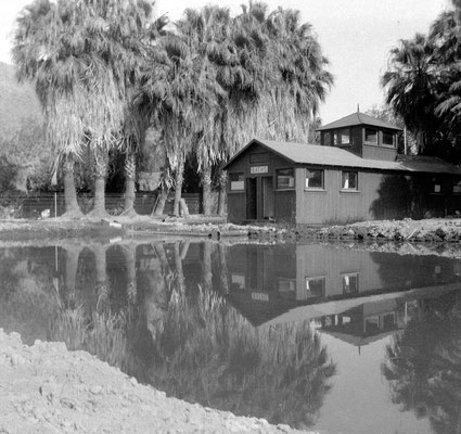 Bathhouse Number Two, Palm Springs, built in the 1910s.