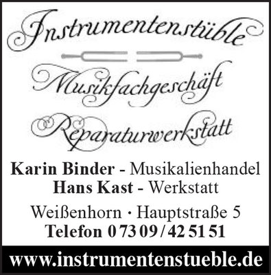 Instrumentenstueble