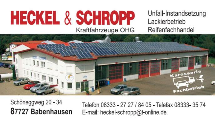Heckel und Schropp