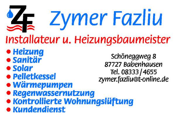 Zymer Fazliu Heizungsbau