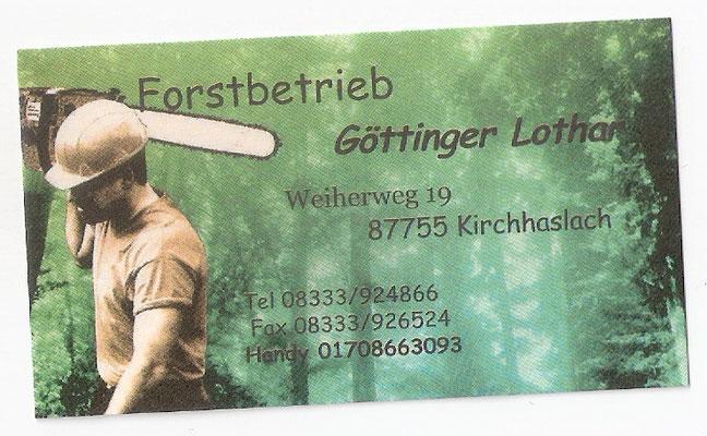 Forstbetrieb Göttinger