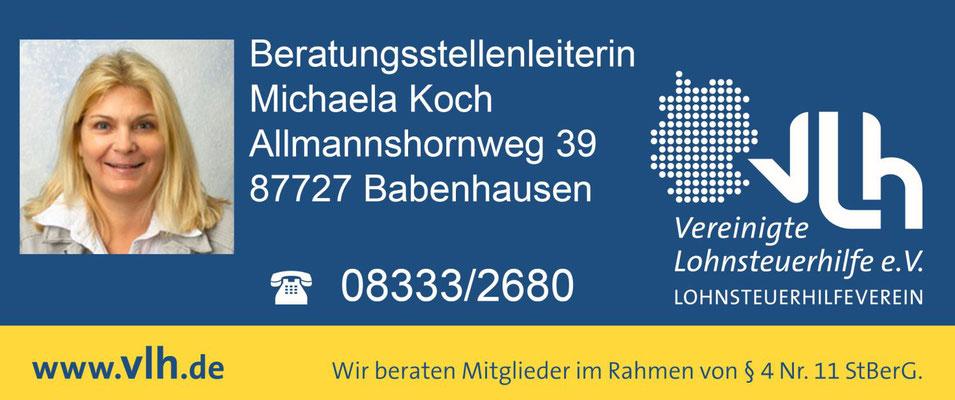 Lohnsteuerhilfe Michaela Koch