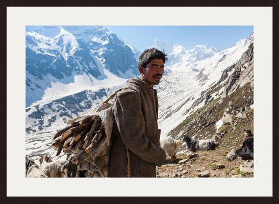 Shepherd, Hamta Pass, Himachal Pradesh