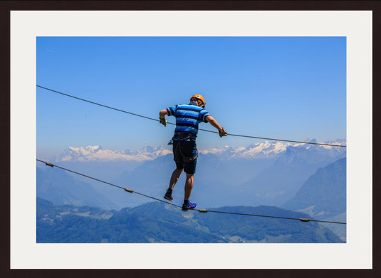 Zip Lining, Pilatus - Hergiswil, Switzerland