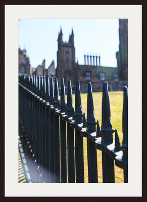 Fences, Edinburgh Castle