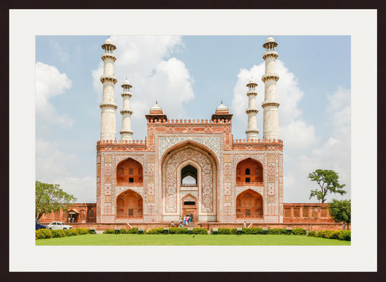 Tomb Of Akbar The Great, Sikandra, Agra, Uttar Pradesh