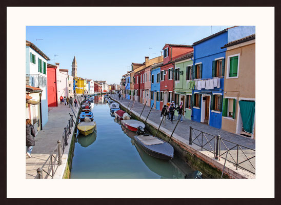 Colored Houses, Venice