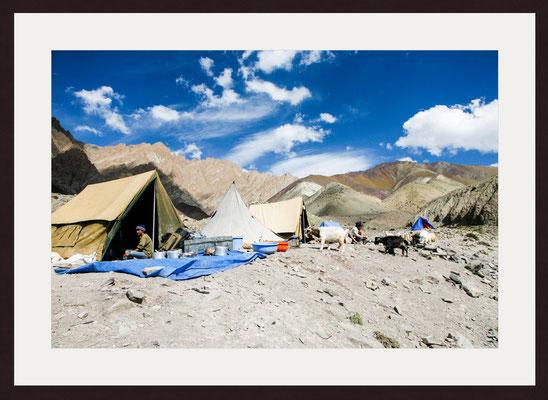 Base of Stok La, Rumbak, Ladakh, Jammu & Kashmir