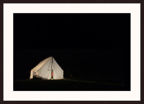 Fluorescent Tent, Spiti Valley, Himalaya, Himachal Pradesh