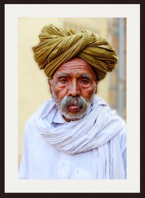 Old Man, Rangrej Para, Rajasthan