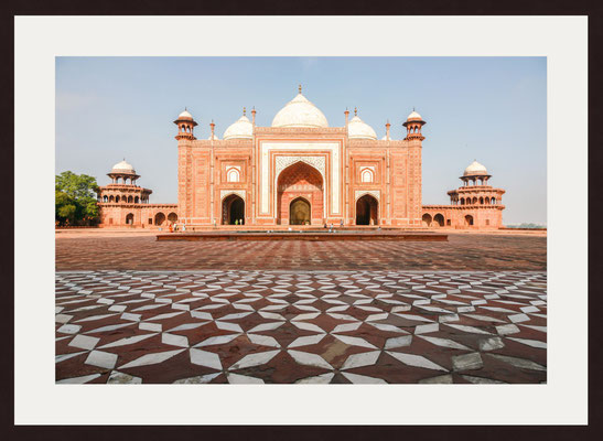 The Mosque, Taj Mahal, Agra, Uttar Pradesh