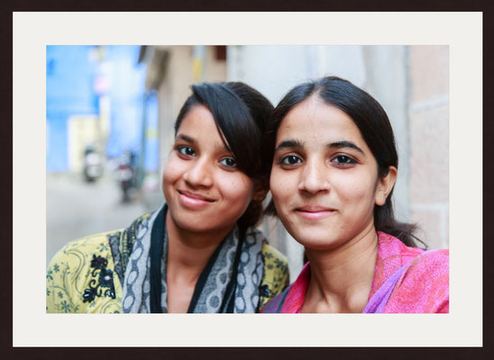 Friends, Blue City Sodagaran Mohalla, Jodhpur, Rajasthan
