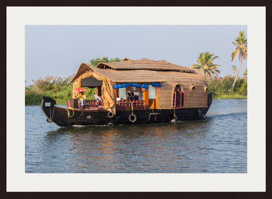 House Boat, Backwaters Alappuzha, Kerala