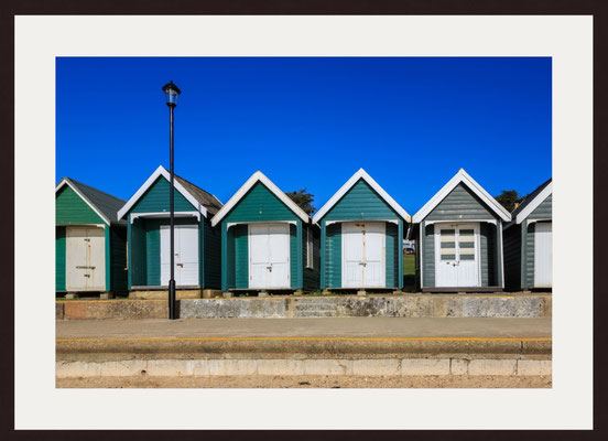 Beach Huts, Gurnard, Isle of Wight
