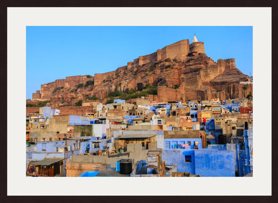 Blue City Sodagaran Mohalla, Jodhpur, Rajasthan